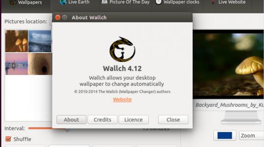 Ubuntu 14.04 用户安装 Wallch 4.12