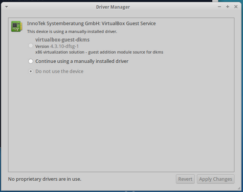 Mint Driver Manager 1.1.4