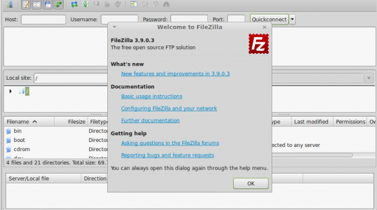 Ubuntu 14.04 及衍生版本通过 PPA 安装 FileZilla 3.9.0.3