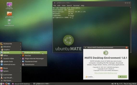 ubuntu  mate 14.04