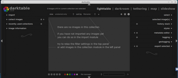 Darktable 1.6