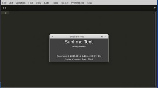 Ubuntu 用户安装代码编辑器 Sublime Text 3 (Build 3083)