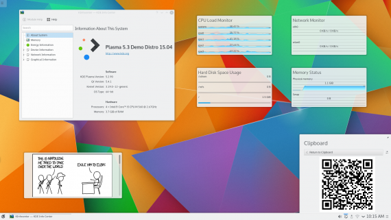 KDE Plasma 5.3 Beta