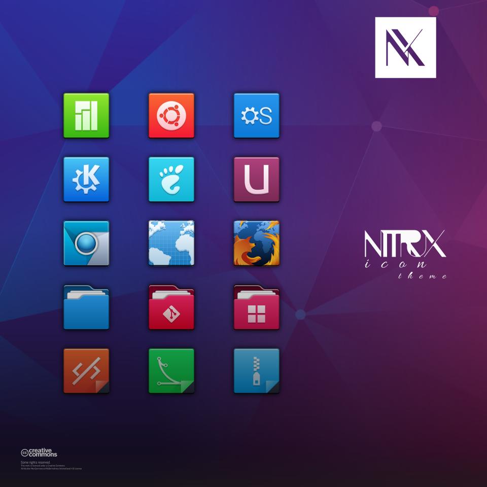 Gnome 图标主题 Nitrux 3.5.2 发布