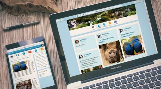 用 Trident 自己搭建社交平台网站