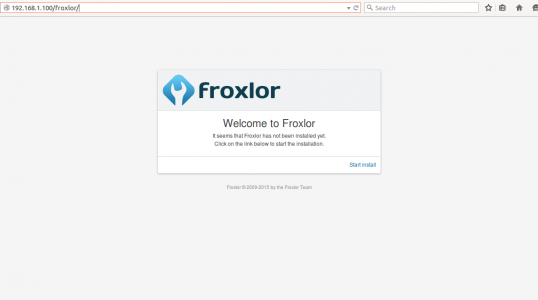 Ubuntu 安装 Froxlor 服务器管理面板