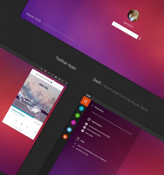 Ubuntu 16.04 Concept 03