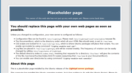 Ubuntu 16.04上安装Lighttpd+PHP 7(PHP-FPM)+MySQL 5.7