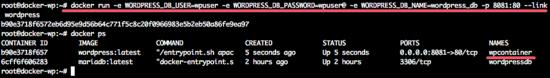 Docker_wordpress_container