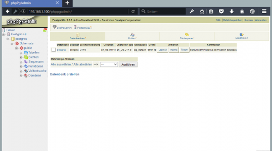 Ubuntu 16.04 怎样安装 PostgreSQL 和 phpPgAdmin