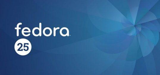 Fedora 25来喽!Fedora 25来喽!