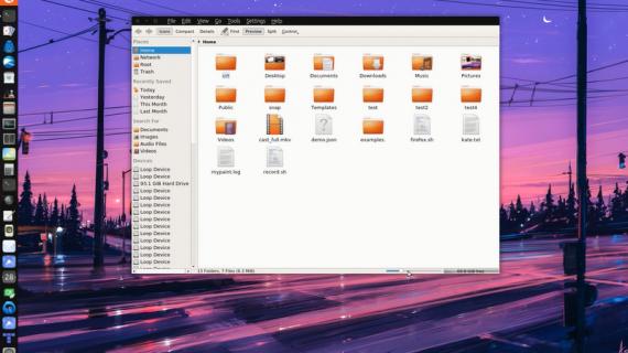 Ubuntu 17.04 Unity 8 – KDE apps 在 Mir 上运行