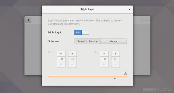 GNOME的新夜灯功能旨在帮助你睡得更好