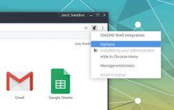 使用Google Chrome实现台式机之间同步GNOME扩展