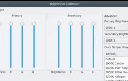 Brightness Controller 2.0 让您调整外部显示器的亮度,温度