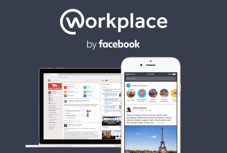 Facebook Workplace 工作传讯应用或推免费版Facebook Workplace 工作传讯应用或推免费版