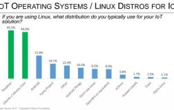 Ubuntu在Eclipse基金会IoT开发者调研中位居第二
