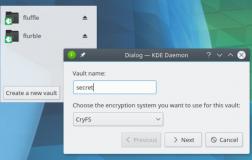 Plasma Vault 可以轻松地在KDE桌面上创建加密的文件夹