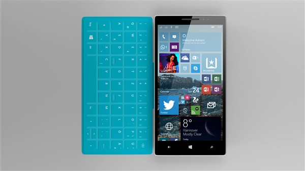 Surface手机的谍照Surface手机的谍照