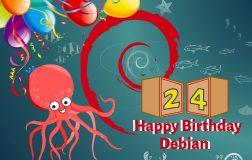 Debian 已经 24 岁啦