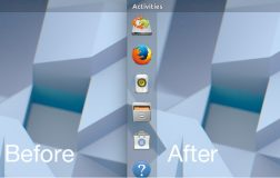 Ubuntu Dock现在具有动态透明度