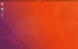 Ubuntu 17.10 高清截图