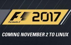 竞速游戏《F1 2017》登陆GNU/Linux平台