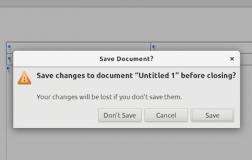新版LibreOffice将在 Linux 上使用 GTK 对话框