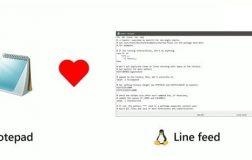 Win10记事本再次为Linux抛出橄榄枝