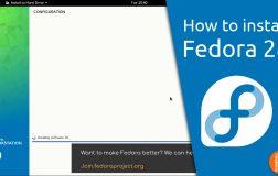 Fedora 28 安装演示视频