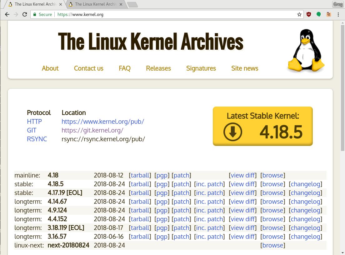 你应该选择哪个稳定的Linux内核版本?你应该选择哪个稳定的Linux内核版本?