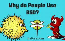 为什么要使用BSD系统?
