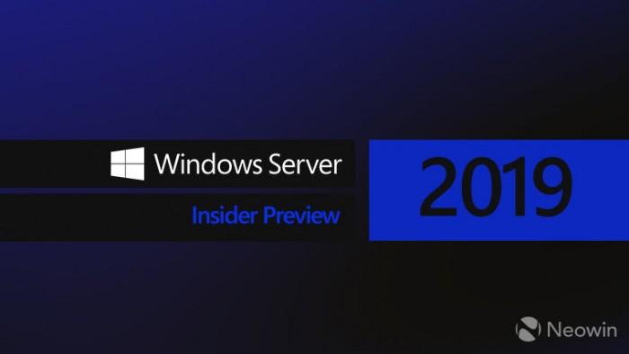 微软Windows Server 2019 Build 17744预览版更新微软Windows Server 2019 Build 17744预览版更新