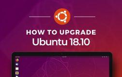 Ubuntu 18.04 LTS 怎样升级到  Ubuntu 18.10
