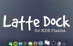 Latte Dock 0.9为KDE Plasma桌面带来更多光彩