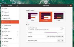 Ubuntu 20.04'Focal Fossa'每日版中可设置新的黑暗模式