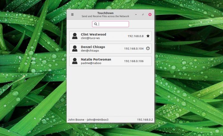 Linux Mint的新文件传输应用程序网络共享