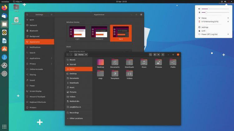 Ubuntu Dark主题,但浅色外壳
