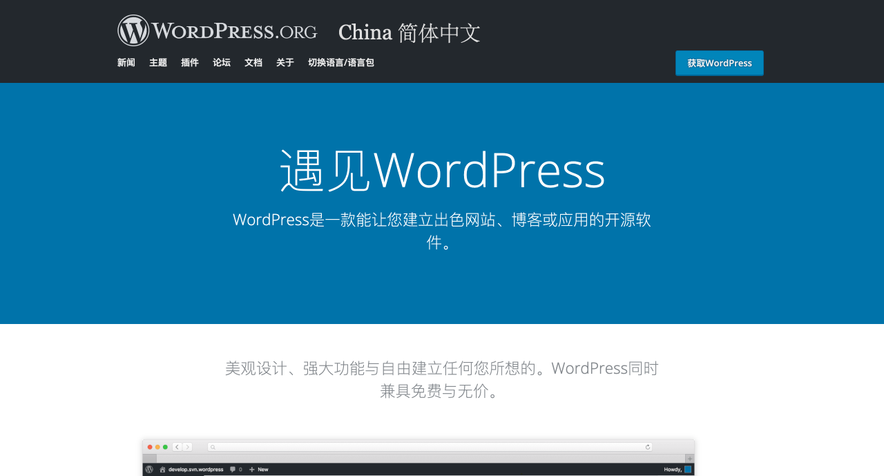 WP-China-Yes 解决无法访问 WordPress 官网问题