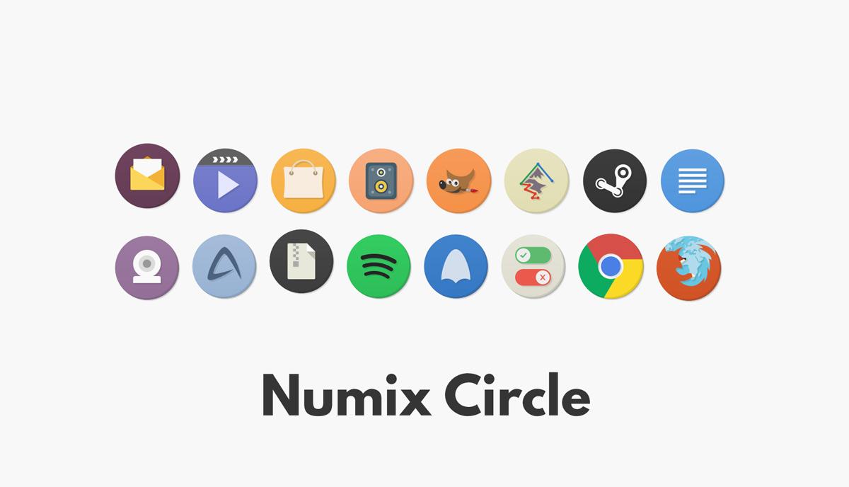 numix 圆圈图标集
